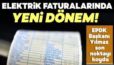 Son dakika haberi | Elektrik faturalarında yeni dönem! EPDK Başkanı Mustafa Yılmaz duyurdu