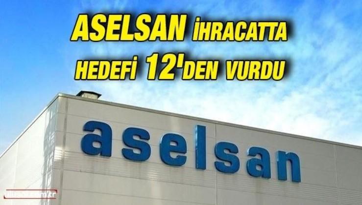 ASELSAN'dan tarihi ihracat başarısı