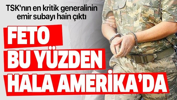 Genelkurmay İstihbarat Başkanı Tümgeneral Ali Serin'in eski emir subayı FETÖ'den gözaltına alındı