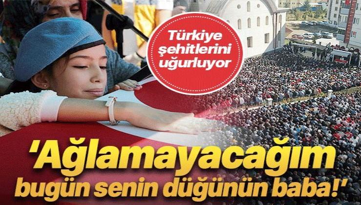 Türkiye Barış Pınarı Harekatı şehitlerini son yolculuğuna uğurladı.
