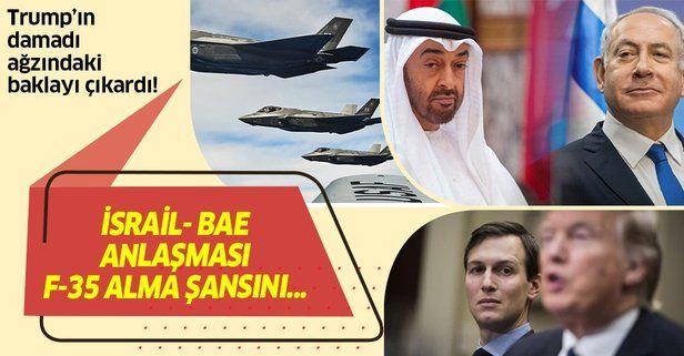 """Trump'ın damadı Kushner: """"İsrail-BAE anlaşması BAE'nin F-35 alma şansını artırmalı"""""""