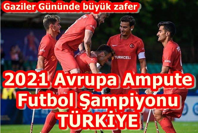 2021 Ampute Futbol Şampiyonu Türkiye, Gazi Osman Çakmak'tan çağrı var: