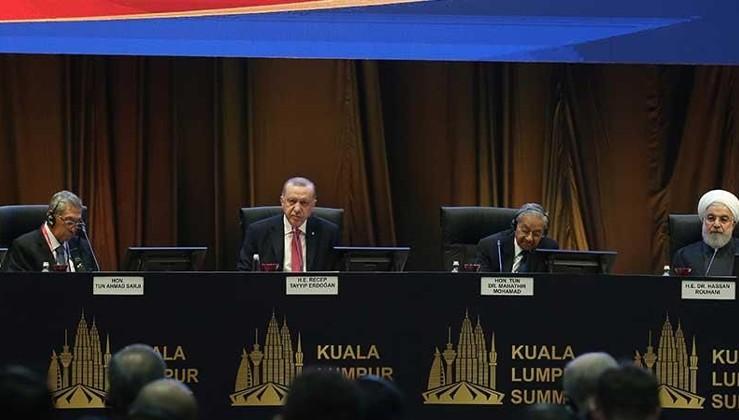Erdoğan: Milli paralarla ticaret meselesi aciliyet kazanmıştır