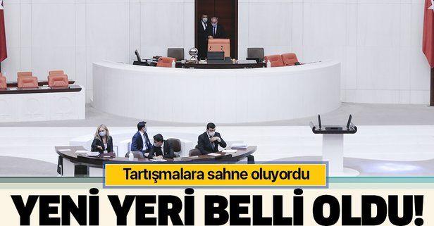 Meclis kürsüsü, Başkanlık Divanı'nın önüne taşınıyor