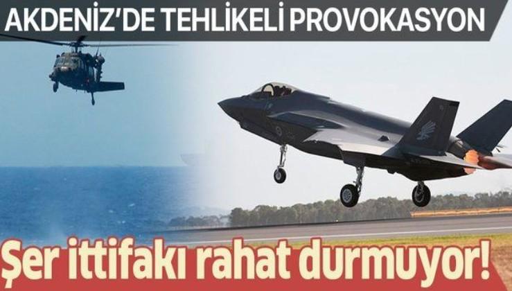 SON DAKİKA: Doğu Akdeniz'de tehlikeli provokasyon: İsrail F-35'leri kullandı