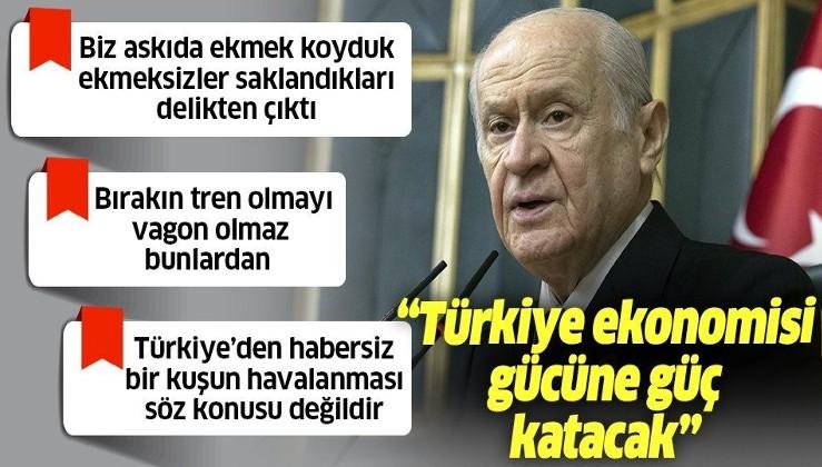 """SON DAKİKA: MHP lideri Devlet Bahçeli'den önemli açıklamalar: """"Kıbrıs Türk'tür, Türk kalacak"""""""
