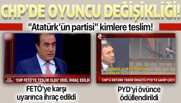 """FETÖ'ye dokunanları ihraç eden CHP """"Sınırımızda PYD olsun!"""" diyen Türker Ertürk'ü kadrosuna kattı!."""