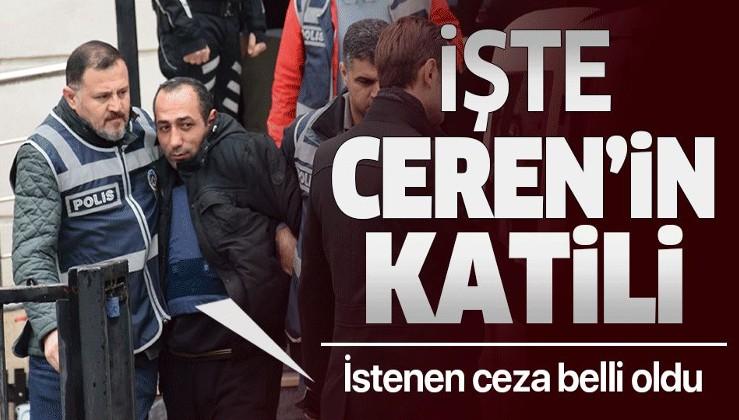 Son dakika: Ceren Özdemir'in katil zanlısı 'canavarca hisle öldürmek' suçundan mahkemeye sevk edildi.