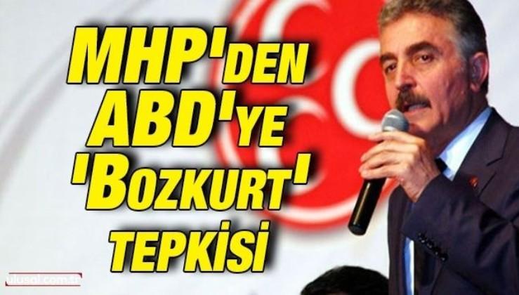 MHP'den ABD'ye 'Bozkurt' tepkisi