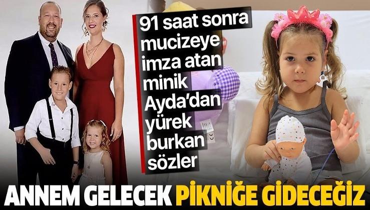 SON DAKİKA: Ayda'nın babası Uğur Gezgin'den yürek yakan sözler: 'Annem gelecek pikniğe gideceğiz'