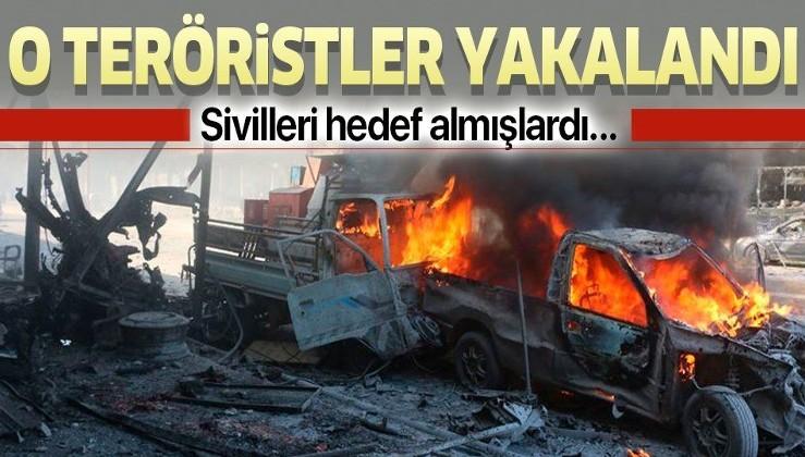 Tel Abyad'da saldırı düzenleyen PKK/YPG'li teröristler yakalandı.