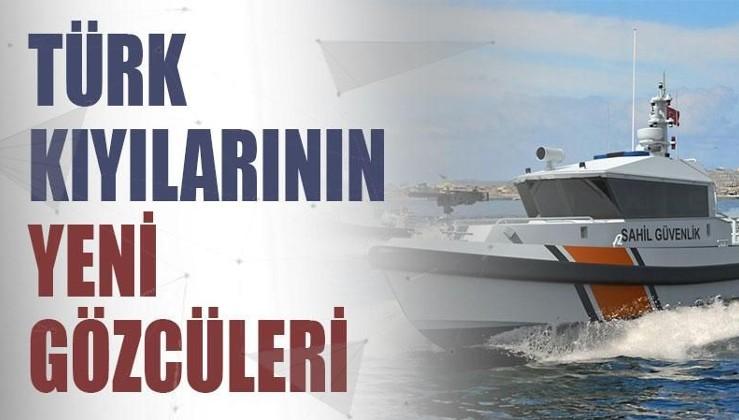 Türk kıyılarını yeni gözcüleri: 120 bot tedarik edilecek