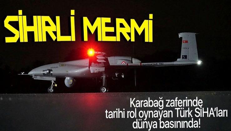 """Türk SİHA'ları dünya basınında ezberleri bozmaya devam ediyor: Zaferinin Arkasındaki """"Sihirli Mermi"""""""