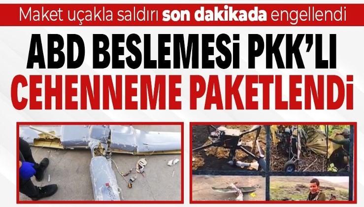 Bakanlık açıkladı: Üs bölgesine maket uçaklı saldırı girişimi engellendi