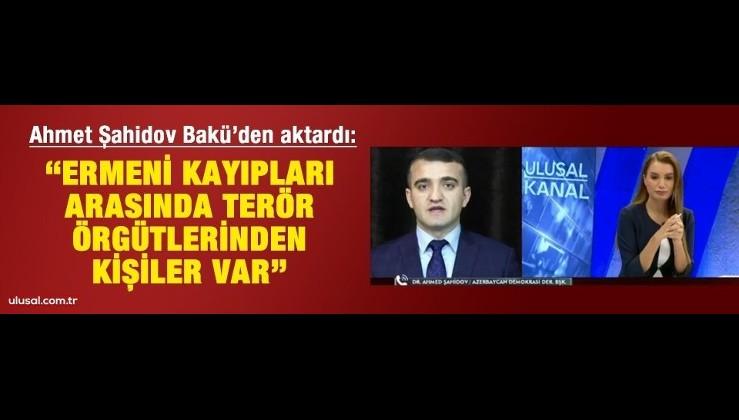 """""""Ermeni kayıpları arasında terör örgütlerinden kişiler var"""""""