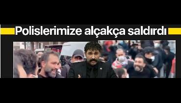 Eski HDPKK'lı Barış Atay! Polisimize alçakça saldırdı...