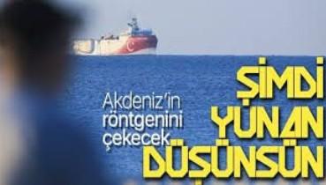 Bakan Dönmez'den Oruç Reis açıklaması: Akdeniz'in röntgenini çekmek için demir aldı