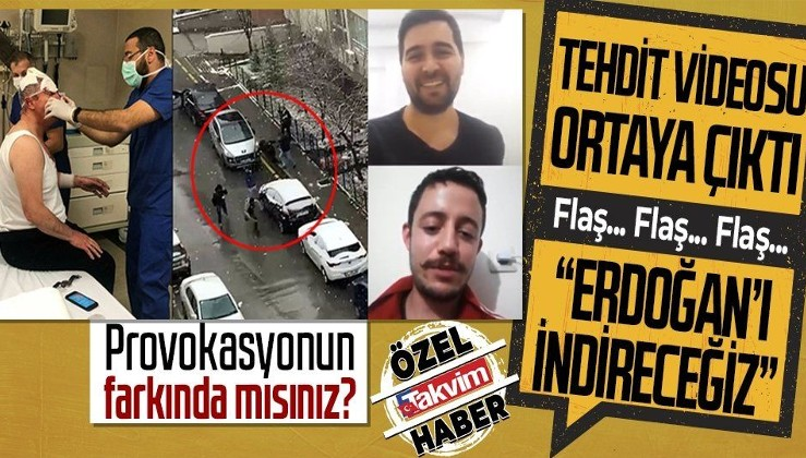 MHP'ye KOMPLO: Selçuk Özdağ'a saldıran kişinin tehdit videosu ortaya çıktı: Erdoğan'ı indireceğiz