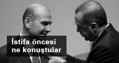 Soylu-Erdoğan görüşmesi