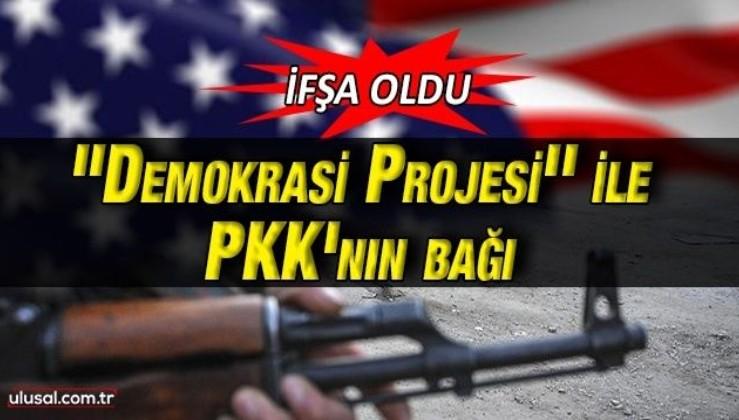 Demokrasi projesinin finansörü PKK lobicisi çıktı