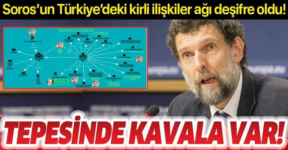 İşte Soros'un Osman Kavala ile kurduğu Türkiye ağı