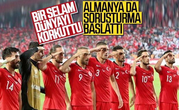 Almanya'da Türk takımlarına karşı asker selamı denetimi
