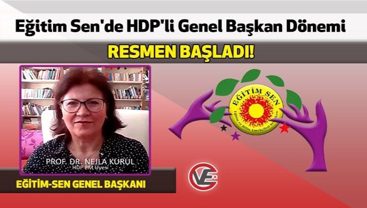 Eğitim Sen'de HDP'li Genel Başkan Dönemi Resmen Başladı