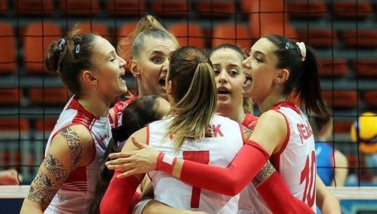 Son dakika: Türkiye 19 Yaş Altı Kız Voleybol Milli Takımı şampiyon oldu