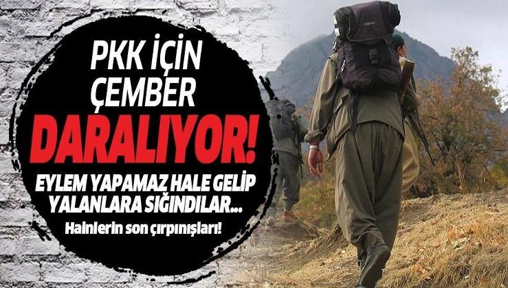 Terör örgütü PKK için çember daralıyor! Doğal afetleri bile eylem diye üstleniyorlar...