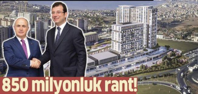 Belediyenin inşaat firmasına peşkeş çektiği Avenue İstanbul projesi için suç duyurusu