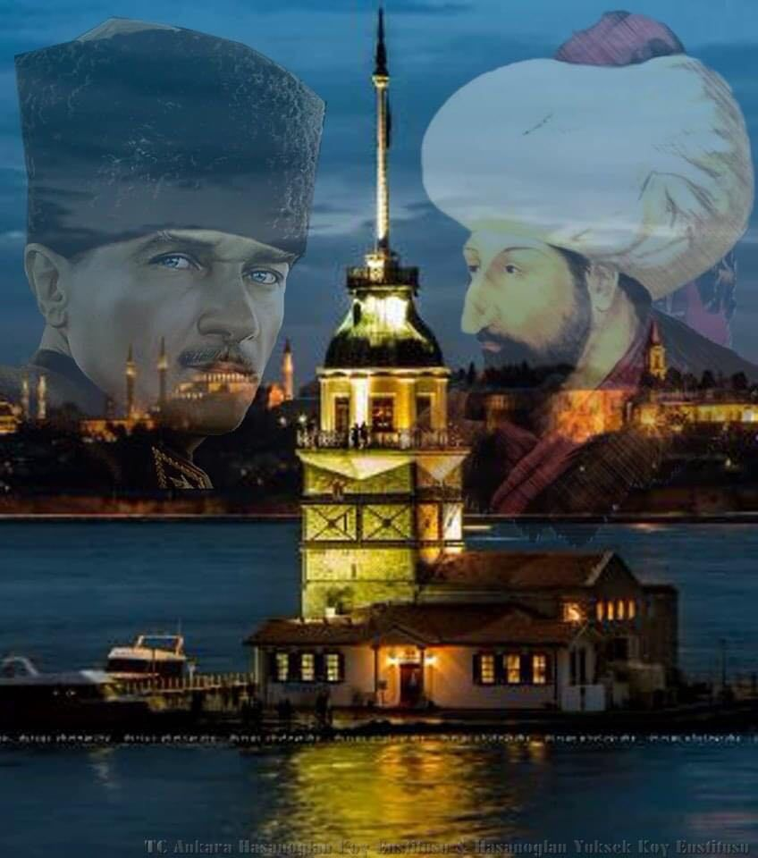İstanbul'un ilk fatihi Fatih Sultan Mehmet HAN İstanbul'un son fatihi Gazi Mustafa Kemal ATATÜRK