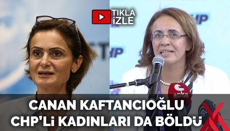 Sakine! Kaftancıoğlu, Kadın Kolları seçimine de karıştı: CHP'de olay çıktı