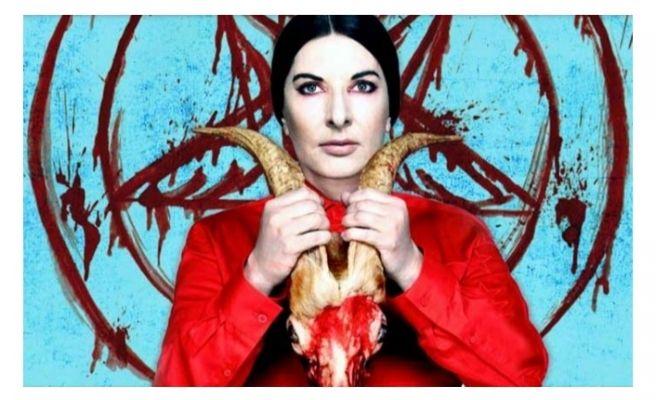 YUH!! Satanist, Kabalist ve Pedofil! Marina Abramovic Sergisi İstanbul'da