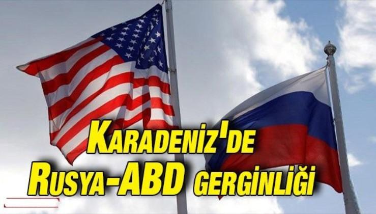 Karadeniz'de Rusya-ABD gerginliği: ABD jetleri sınır ihlali yaptı