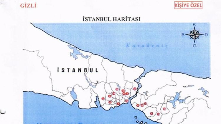 Odasından 'Türkiye'yi bölme planı' çıktı! Kaos çıkarılacak semtler kodlanmış