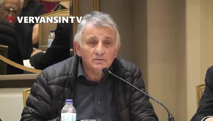 Durmuş Yılmaz'ın Katırcıoğlu'nun konuşmasını alkışladığı görüldü.