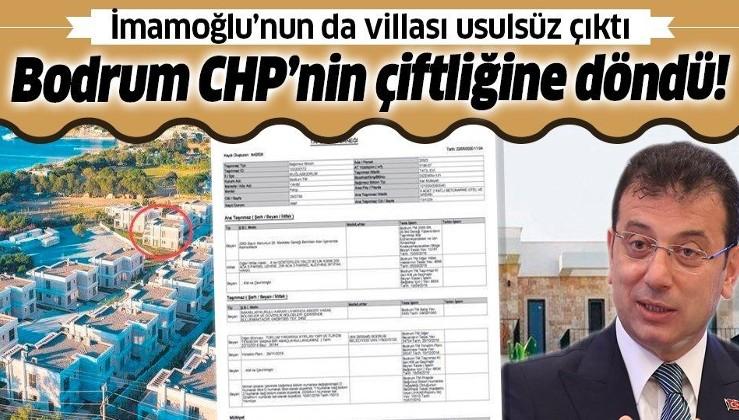 Ekrem İmamoğlu'nun Bodrum'daki villası usulsüz çıktı