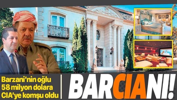 Mesut Barzani'nin oğlu Mesrur CIA karargahının yanında malikane satın aldı!.