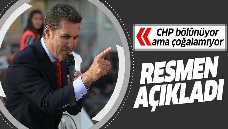 Mustafa Sarıgül, yeni parti kurmak için DSP'den ayrıldığını açıkladı
