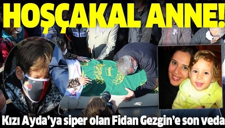 SON DAKİKA: Depremden 91 saat sonra kurtarılan Ayda'nın annesi Fidan Keskin Gezgin'in son yolculuğuna uğurlandı