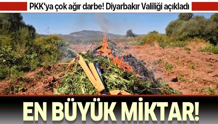 Son dakika: Diyarbakır'ın Lice ve Hazro ilçesinde PKK'ya ağır darbe!.