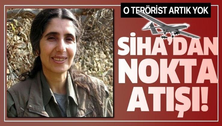 Son dakika: Leyla Ağiri kod adlı terörist Filiz Arslan, SİHA tarafından etkisiz hale getirildi