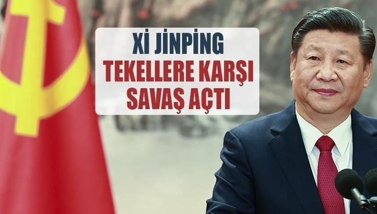 Xi Jinping tekellere karşı savaş açtı