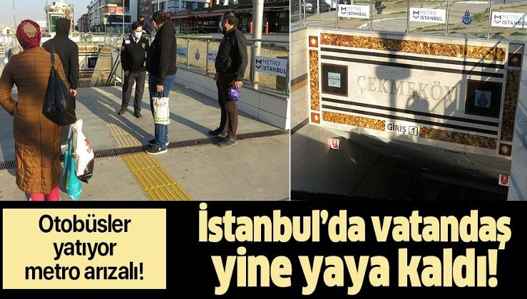 Son dakika: Metro İstanbul'dan açıklama geldi