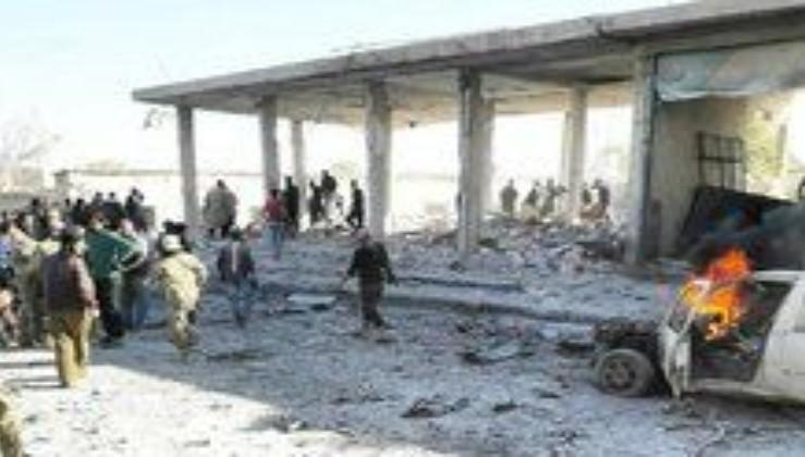 Son dakika: Tel Abyad'da patlama! Bomba yüklü araç....