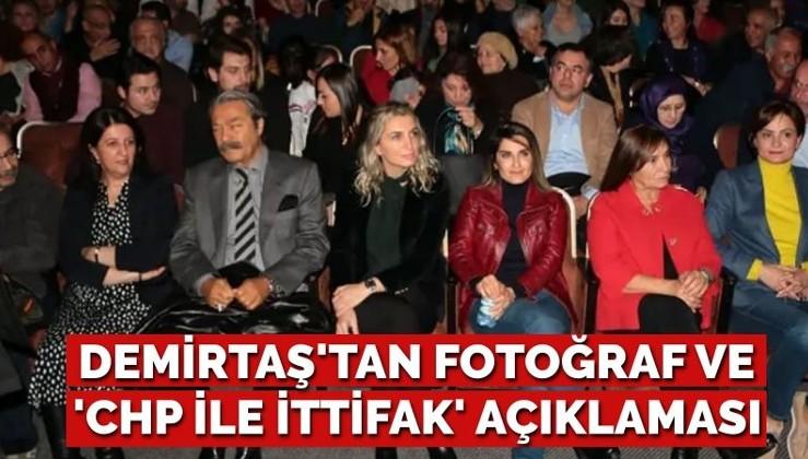 Terör örgütü memuru Demirtaş CHP HDP koalisyonu istedi