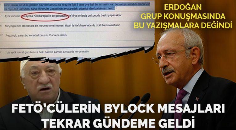 FETÖ'cülerin ByLock konuşmasında Kılıçdaroğlu detayı