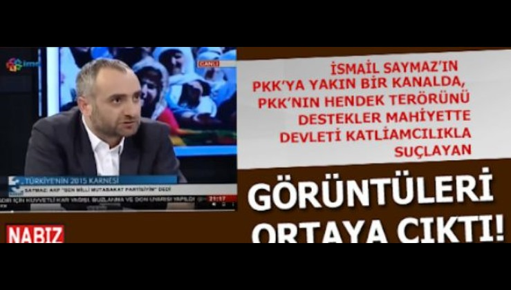 İsmail Saymaz'dan PKK kanalında facia sözler: Devlet kürtleri katletme,ezme politikası izliyor!