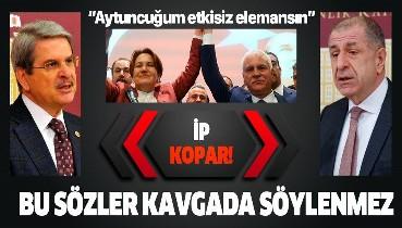 İYİ Parti'de kriz sürüyor! Koray Aydın'dan Ümit Özdağ ve Aytun Çıray'a ağır sözler