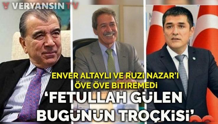Kavuncu: 'Fetullah Gülen bugünün Troçki'si'